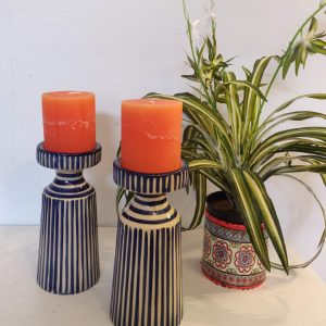 striped-blue-ceramic-candle-holder-Castlemartyr-House-Gallery-Gifts-Co-Cork-Ireland (35)